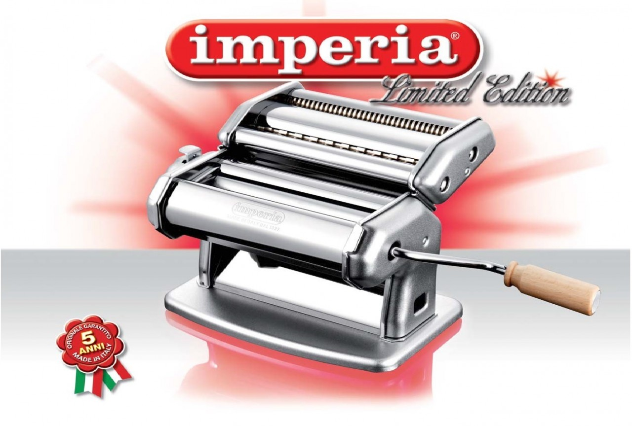 imperia pasta machine limited edition made in italy sold by. Black Bedroom Furniture Sets. Home Design Ideas