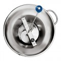 Mouli Food Mill (Tomato Strainer / Crusher) # X3, Stainless Steel, 5 Qt. Capacity